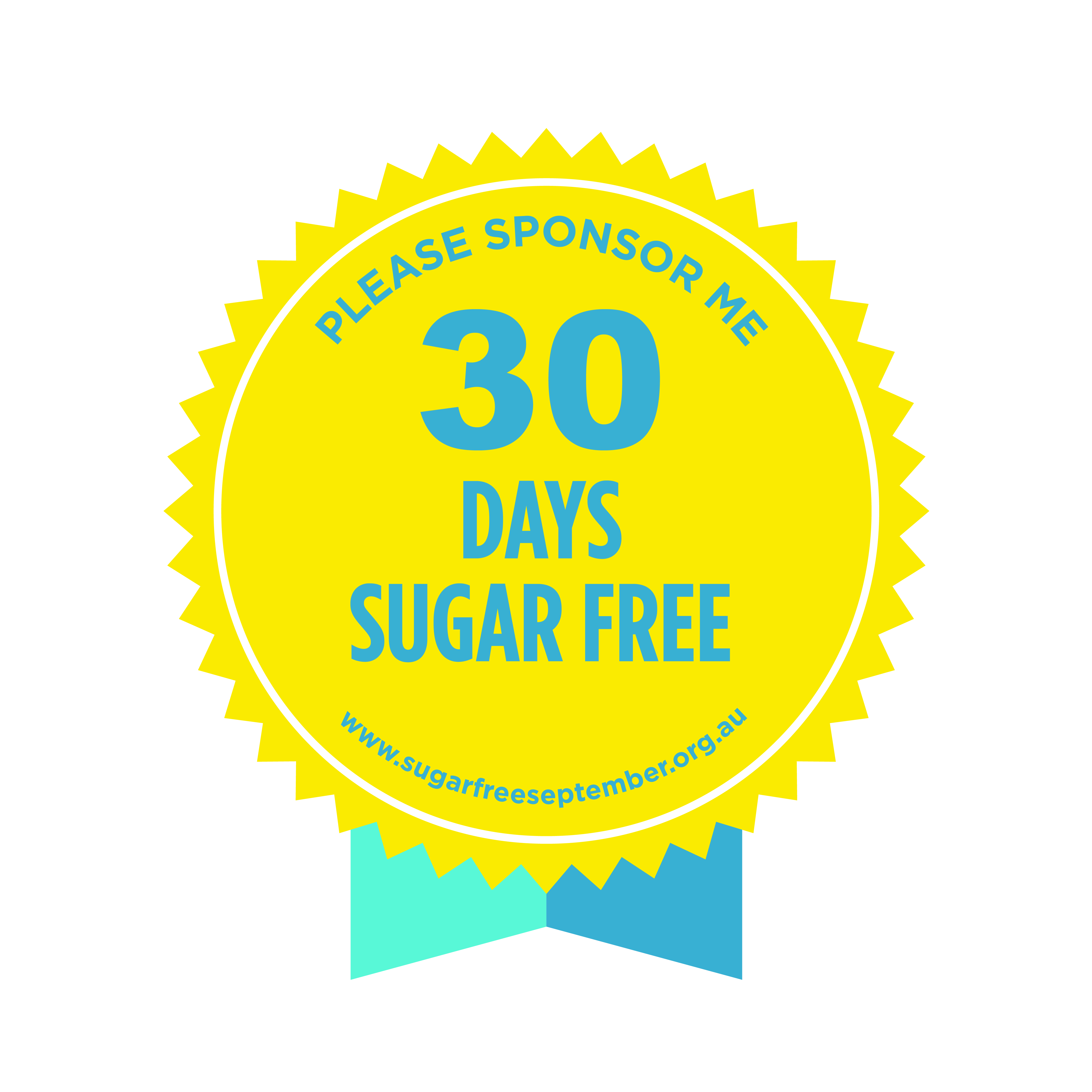 30 days sugar free badge