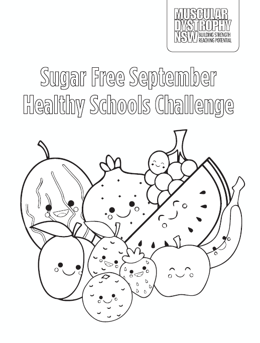 School Colouring Sheet